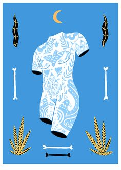 My new screen print. What a hot bod! 4 colours, A3 - available to buy at Puck Shop for £35 incl P&P!