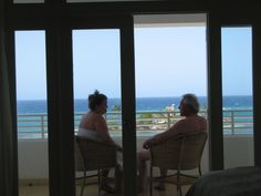Afternoons on the balcony, relaxing, napping in the room, watching the sea and the resort and the beach.  Heaven.