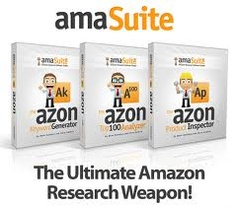 Three powerful #Amazon research software tools used to quickly uncover hidden profitable Amazon products in mere seconds. A full Amazon affiliate training course is included along with several high quality bonuses as well as unadvertised bonuses. This package is HUGE with massive value. We have already paid out over 100K to our affiliates during a 2 week launch on the Warrior Forum. This product is a massive success!
