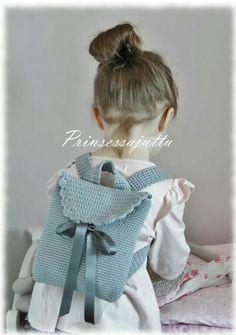 Crochet back bag