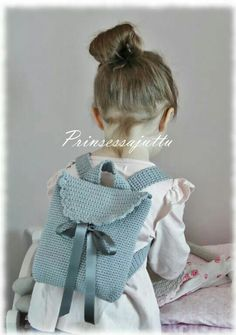 Crochet back bag