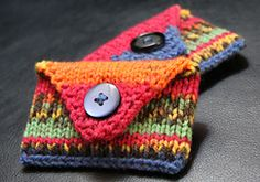 Ravelry: Card Envelope pattern by Laura Bain