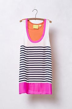 Anthropologie - Striped Persephone Tank from Anthropologie. Saved to sweaters, tops, tanks, my favs. Street Style, Look Fashion, My Wardrobe, Spring Summer Fashion, Passion For Fashion, Dress To Impress, What To Wear, Style Me, Fasion