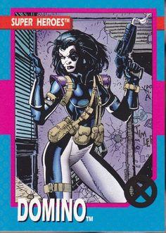 Marvel Super Heroes Domino Trading Card - Jim Lee