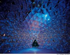 Swarovski Kristallwelten Innsbruck - Inside the Crystal Dome Room #feelaustria