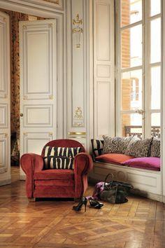 pillows collection http://www.elitis.fr/en/accessory #elitis, #L'Accessoire, #pillows, #home, #accessories, #decoration