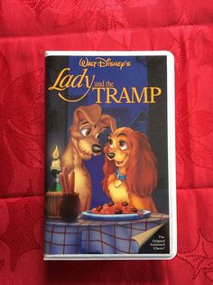 RARE Walt Disney Blk Diamond Lady And The Tramp VHSWith 4 Lithographs  | eBay
