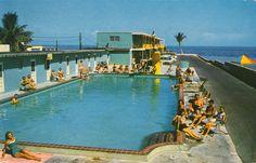 Sun 'N Surf Motel Postcard