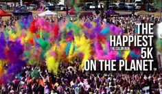 The Color Run: put it on the bucket list and check it off!