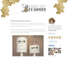 by Hello Monday Design #hexagon #honeycomb #gold #glitter (see full site at http://mindmybeeswax.blogspot.com/)