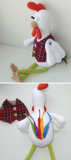 Vintage Crochet Chicken Patterns The Cutest Ideas