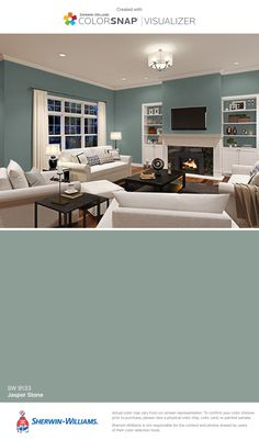 Dining room???  I found this color with ColorSnap® Visualizer for iPhone by Sherwin-Williams: Jasper Stone (SW 9133).