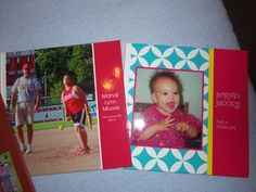 Some of my Shutterfly photo books!  Completely awesome!  People actually took them and sat down and looked at them at my daughter's high school graduation!  They were a big hit!