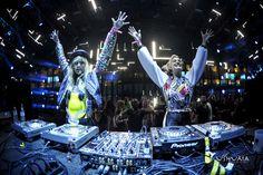 Hands up at Ushuaia Ibiza!
