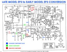 Echoplex Preamp: analysis y mods.