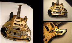 Las mejores guitarras Steampunk | Quiero más diseño