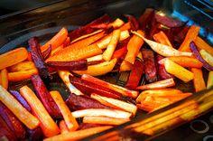 Fit & Fast Kitchen: Warzywne fit frytki