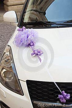 Wedding Car Decoration Stock Images - Image: 27724614