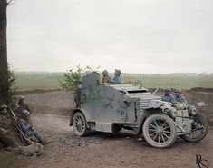 Ww1 Tanks, Ww1 Photos, World Conflicts, Armored Vehicles, World War I, Wwi, Cannon, First World, Military Vehicles