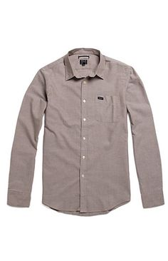 RVCA That'll Do Oxford Woven Shirt at PacSun.com