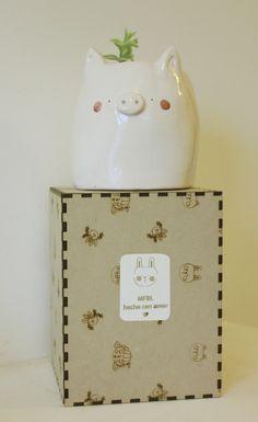 MFDL- Ceramic pot- Maceta de cermica hecha a mano