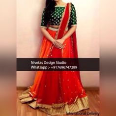 whatsapp All of our pieces can be made to measure and customisation options such as colour, embroidery and fabric changes are also available. Bridal Anarkali Suits, Indian Bridal Lehenga, Red Lehenga, Lehenga Choli, Sarees, Pakistani Fashion Casual, Punjabi Fashion, Bollywood Fashion, Indian Fashion