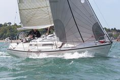 The Dehler 36 yacht 'Cloudy Bay' competing in the 2013 J.P. Morgan Asset…