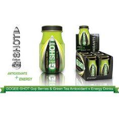 G-SHOT 2.4 fl. oz. (70 mL) Goji Berries Green Tea Supplements, Coconut Water, Energy Drinks, Berries, Bury, Blackberry, Strawberries