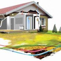 Принцип действия теплового насоса состоит в сборе тепла из окружающей среды (почвы или воды) и передаче в систему теплоснабжения здания.  ...