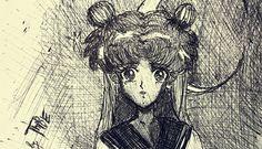 Sailor Moon Art - by thibe