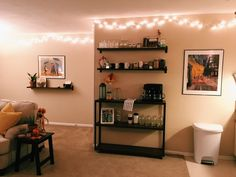Apartment decor - DIY Coffee Station