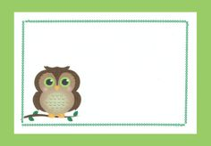 This owl quilting label is adorable!
