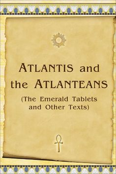 This book provides information about the spiritual life in Atlantis. It includes, in particular, excerpts from conversations with former Atlanteans, who worked and developed during their incarnations on that conti-nent. The main value of the book is a description of the methodology of spiritual development. This book is intended primarily for those who seek the way to achieving the spiritual Perfection.