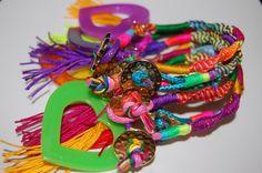 #bracelets #fashion #likeforlike #colors #beautiful #girl. A la venta!! sale http://www.facebook.com/damarysavilaccesorios