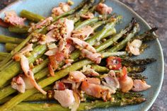 Bacon and Mustard Asparagus - the perfect side dish with two of my ...