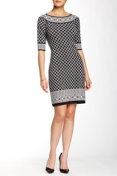 Printed Shift Dress by Max Studio on @nordstrom_rack