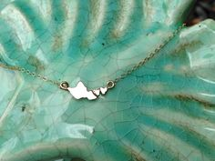 In Love Oahu Necklace by SparrowSeas on Etsy