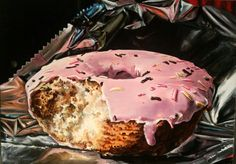 Sweet temptation Acrylic on canvas size 50/70 cm