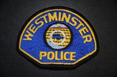 Westminster Police Patch, Orange County, California (Vintage 1968-2006 Issue)