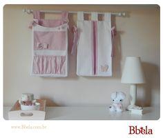 porta fraldas de tecido para parede - Pesquisa Google