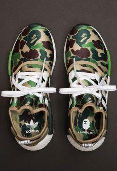 Macho Moda - Blog de Moda Masculina: 5 Sneakers que estão em alta para o Vestuário Masculino. Adidas NMD, Bape