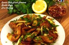 Cumin Chili Fried Potatoes (Sindhi Style)   Fun Cooking