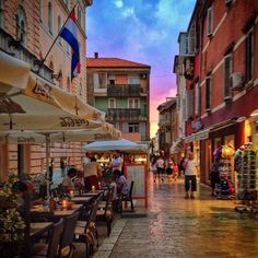Zadar, Zadar, Croatia - Zadar's Stari Grad, or Old Town, is a...