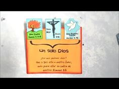 Manualidades Cristianas, Cuadro en cartón, tema: La Trinidad. - http://cryptblizz.com/como-se-hace/manualidades-cristianas-cuadro-en-carton-tema-la-trinidad/