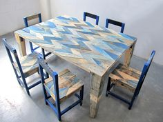 Bargello Table by Andrew YES