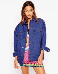ASOS Denim True Blue Girlfriend Jacket