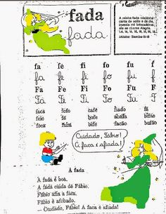 CARTILHAS E TRABALHOS: CARTILHA ALEGRIA DO SABER (postando ainda as atividades) Samba, Education, 1, Preschool Literacy Activities, Kids Learning Activities, Reading Activities, Teaching Reading, Index Cards, Children