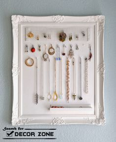 ornaments storage ideas on the wall