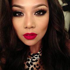 Love this makeup look