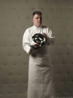 food photography chef portrait art Photographer Marie Cecile Thijs Shares Her 'Cooks' Portrait Series